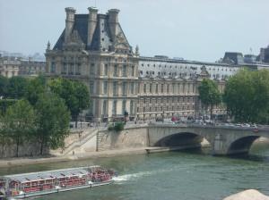 Vista da varanda do Musée d\'Orsay